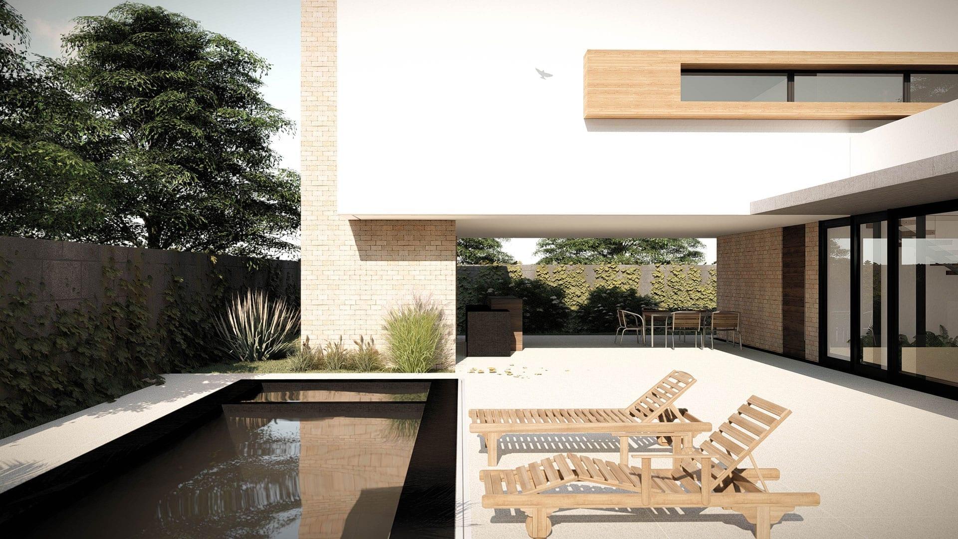 Arquiteta Beatriz Teixeira - Casa Parisi Piscina